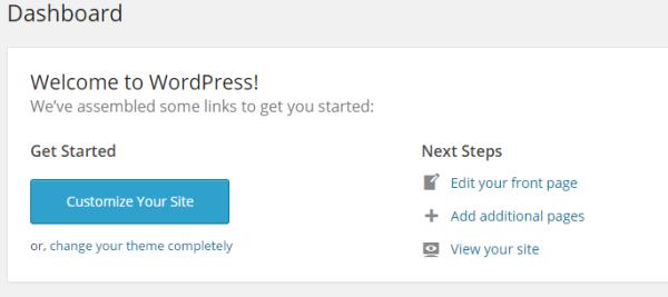 cara membuat menu static page di wordpress